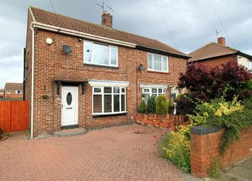 Thumbnail 2 bed semi-detached house for sale in Poplar Drive, Sunderland