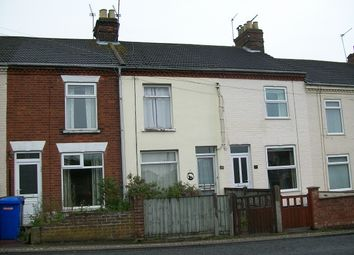Thumbnail 3 bed terraced house to rent in Gorleston Road, Oulton Broad, Lowestoft