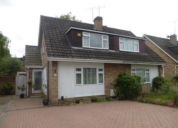 Thumbnail 3 bedroom semi-detached house for sale in Hazel Drive, Woodley, Reading