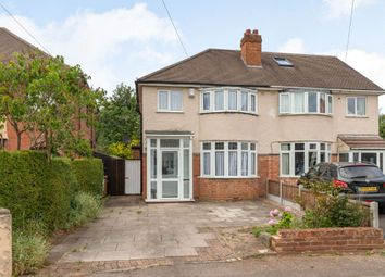 Thumbnail 3 bed semi-detached house for sale in Lyn Avenue, Lichfield, Staffordshire