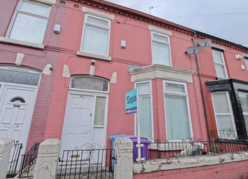 Thumbnail 3 bed terraced house for sale in Granville Road, Wavertree, Liverpool