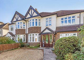 Thumbnail 4 bed semi-detached house to rent in Broom Road, Teddington