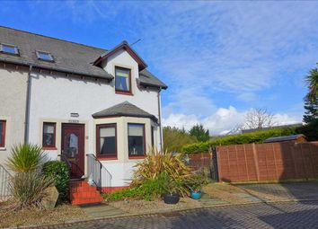 Thumbnail 2 bed semi-detached house for sale in Cora Linn Court, Brodick, Brodick