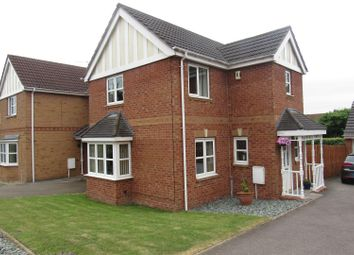 Thumbnail 3 bed link-detached house to rent in Impey Close, Braunstone, Leicester
