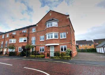 Thumbnail 4 bed terraced house for sale in Featherstone Grove, Gosforth, Newcastle Upon Tyne