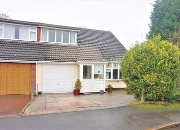 Thumbnail 3 bed semi-detached bungalow for sale in Oatfield Close, Burntwood