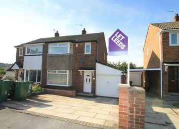 Thumbnail 3 bed semi-detached house to rent in Spring Valley Croft, Bramley, Leeds