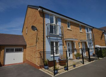 Thumbnail 3 bed semi-detached house for sale in Rapide Way, Weston-Super-Mare