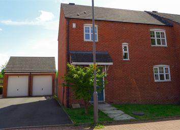 Thumbnail 3 bed end terrace house to rent in Lingfield Close, Catterick Garrison, North Yorkshire.