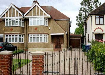 Thumbnail 3 bed semi-detached house for sale in Sandringham Gardens, North Finchley, London