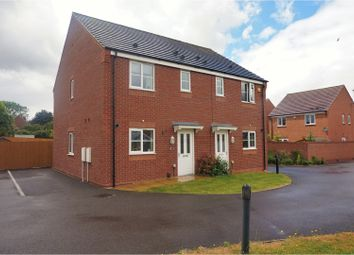 Thumbnail 3 bedroom semi-detached house for sale in Linley Road, Rushall