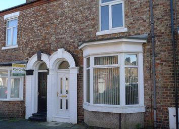 Thumbnail 2 bed terraced house to rent in Benson Street, Stockton-On-Tees