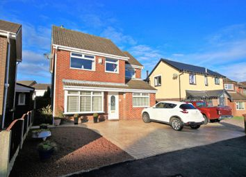 Thumbnail 4 bed detached house for sale in Whitecroft Road, Wigan