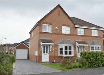 Thumbnail 3 bed semi-detached house to rent in Clough House Drive, Leigh, Lancashire