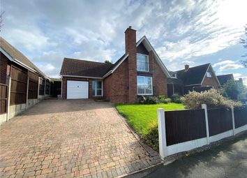 Thumbnail 3 bed detached house for sale in Carsington Crescent, Allestree, Derby