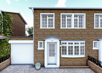 Thumbnail 3 bed end terrace house for sale in Silver Way, Romford