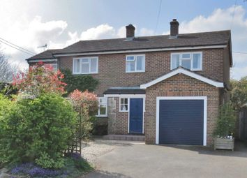 Thumbnail 5 bed detached house for sale in Ogbourne St. George, Marlborough