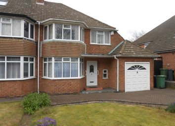 Thumbnail 3 bed semi-detached house for sale in Chester Road, Streetly, Sutton Coldfield