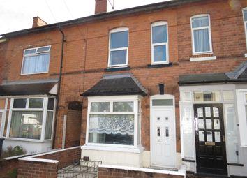 Thumbnail 3 bedroom terraced house for sale in South Road, Erdington, Birmingham