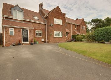 Thumbnail 4 bed semi-detached house for sale in Grange Crescent, Tickton, Beverley