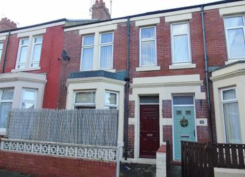 Thumbnail 3 bed terraced house for sale in Oxford Street, Whitley Bay