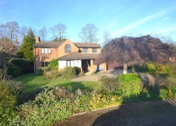 Thumbnail 4 bed detached house for sale in Rowlandson Close, Weston Favell, Northampton