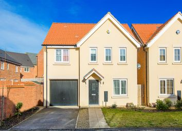 Thumbnail 4 bed detached house for sale in Cambrian Lane, Corby