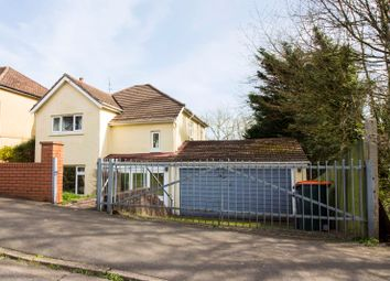 Thumbnail 3 bed detached house for sale in Brynglas Avenue, Newport