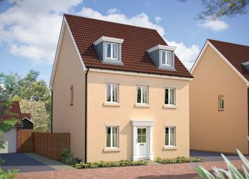 "Thumbnail 5 bed detached house for sale in ""The Melville"" at Poethlyn Drive, Costessey, Norwich"