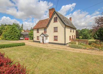Thumbnail 4 bed farmhouse for sale in The Street, Sturmer, Haverhill