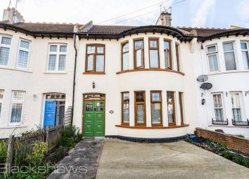 Thumbnail 4 bedroom terraced house for sale in Elderton Road, Westcliff-On-Sea