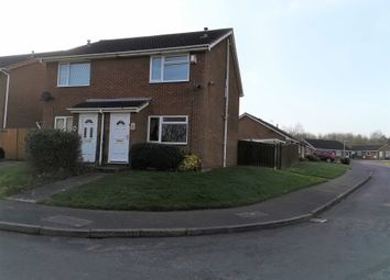 Thumbnail 2 bed semi-detached house to rent in Mercia Drive, Leegomery, Telford