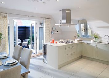 Thumbnail 3 bedroom semi-detached house for sale in Queen Katherine Road, Lymington, Hampshire