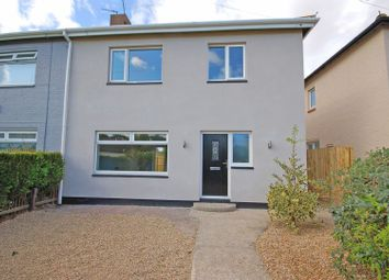 Thumbnail 3 bed semi-detached house for sale in Lynholm Grove, Forest Hall, Newcastle Upon Tyne