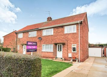 Thumbnail 3 bed semi-detached house for sale in The Cloisters, Hemingbrough