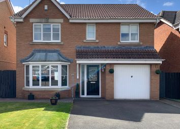 Thumbnail 4 bed detached house for sale in Epsom Drive, Ashington