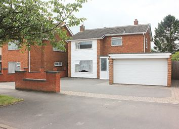 Thumbnail 4 bed detached house for sale in Coombe Rise, Oadby, Leicester