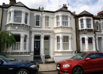 Thumbnail 3 bed flat to rent in Sugden Road, London