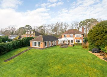 Thumbnail 4 bed detached house for sale in Longdown Road, Lower Bourne, Farnham, Surrey