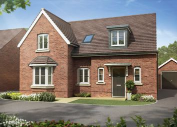 "Thumbnail 4 bedroom detached house for sale in ""Burton"" at The Walk, Withington, Hereford"