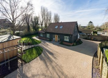 Thumbnail 4 bed barn conversion for sale in Church Road, Wilby, Eye