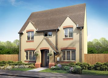 "Thumbnail 3 bed detached house for sale in ""The Clayton"" at Fox Lane, Green Street, Kempsey, Worcester"