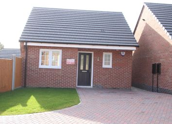 Thumbnail 1 bed semi-detached bungalow for sale in Tommy Brown Close, Earl Shilton, Leicester