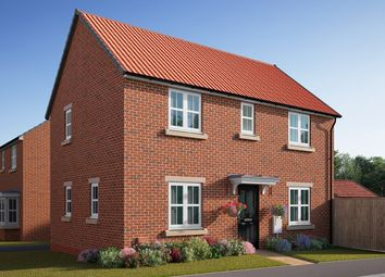 "Thumbnail 3 bed semi-detached house for sale in ""The Mountford"" at Southfield Lane, Tockwith, York"