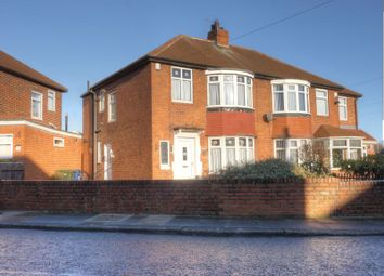 Thumbnail 3 bedroom semi-detached house for sale in Mill Hill Road, West Denton, Newcastle Upon Tyne