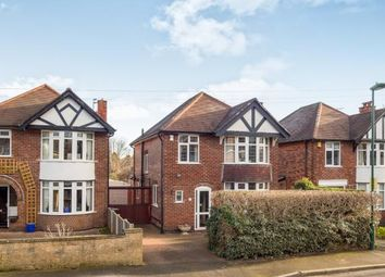Thumbnail 3 bed detached house for sale in St. Leonards Drive, Wollaton, Nottingham, Nottinghamshire