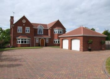 Thumbnail 5 bed detached house for sale in Darras Road, Darras Hall, Ponteland, Northumberland