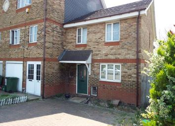 Thumbnail 3 bed end terrace house for sale in Redbourne Drive, London