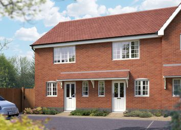 "Thumbnail 2 bedroom semi-detached house for sale in ""The Amberley"" at Silfield Road, Wymondham"
