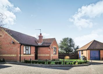 Thumbnail 2 bed detached bungalow for sale in Bryony Court, Holt